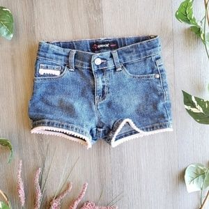 JORDACHE // Girls Adjustable Waist Shorts [5T]